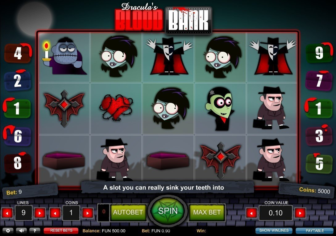 Blood Bank Slot Review