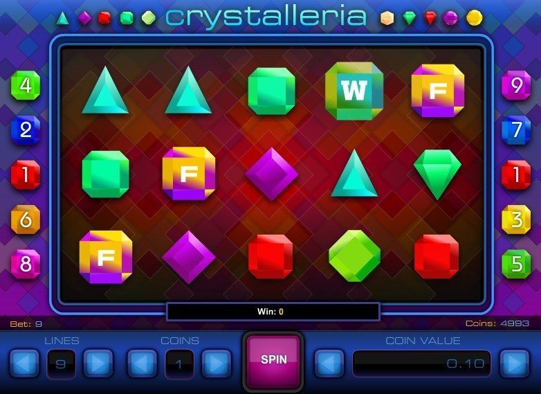 Crystalleria Slot Review