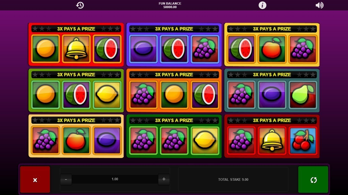 Fruity 3x3 Slot Review