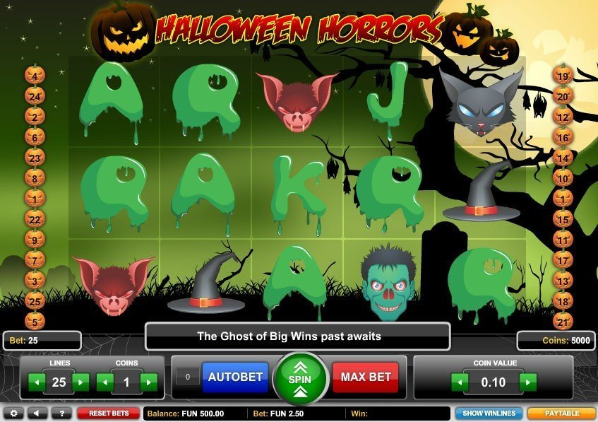 Halloween Horrors Slot Review