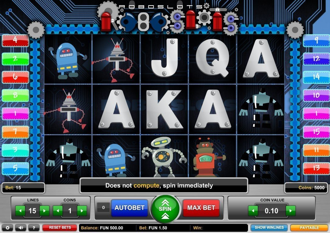Roboslots Slot Review