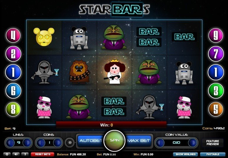 Star Bars Slot Review