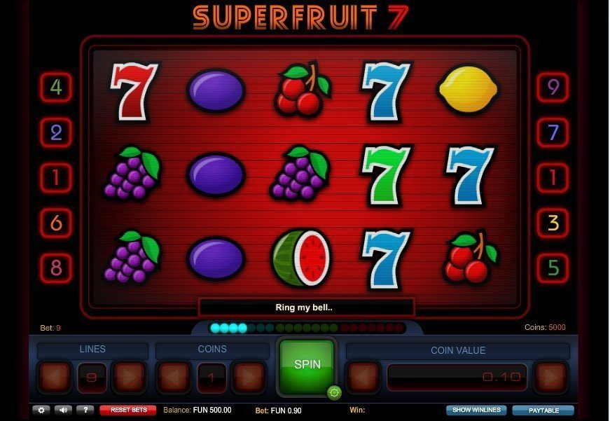 Super Fruit 7 Slot Review