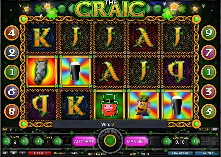 The Craic Slot Review