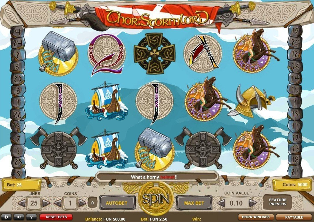 Spiele Thor: Stormlord - Video Slots Online