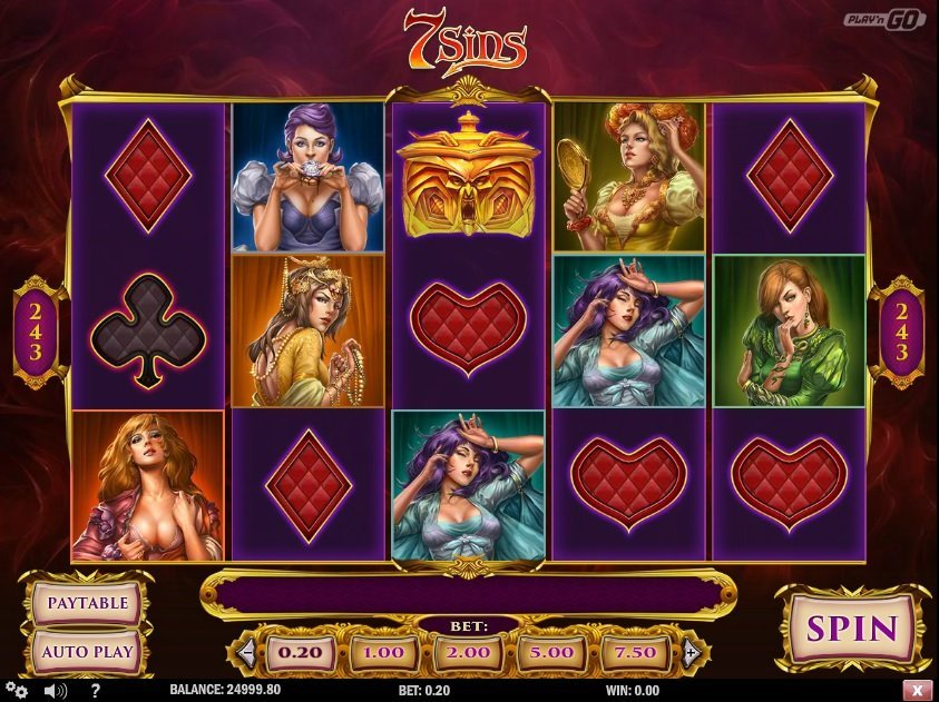 7 Sins Slot Review