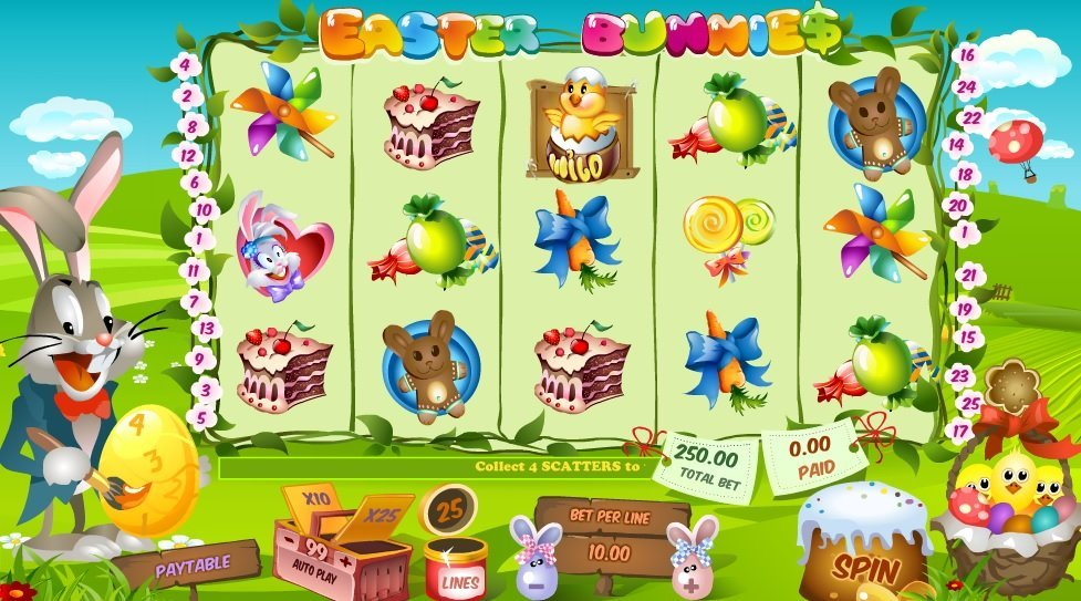 Easter Bunnies Slot Review
