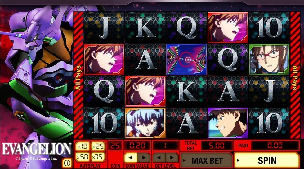 Evangelion Slot Review