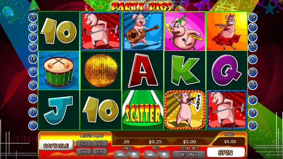 Party Pigs Slot Review