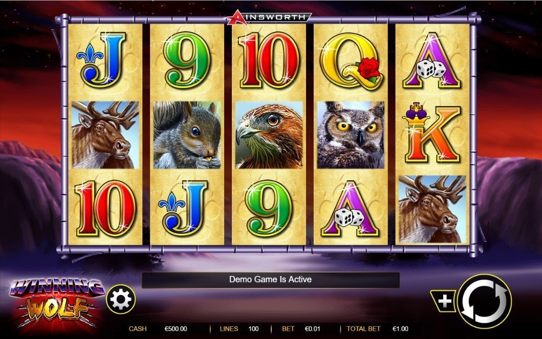 Winning Wolf Slot Review