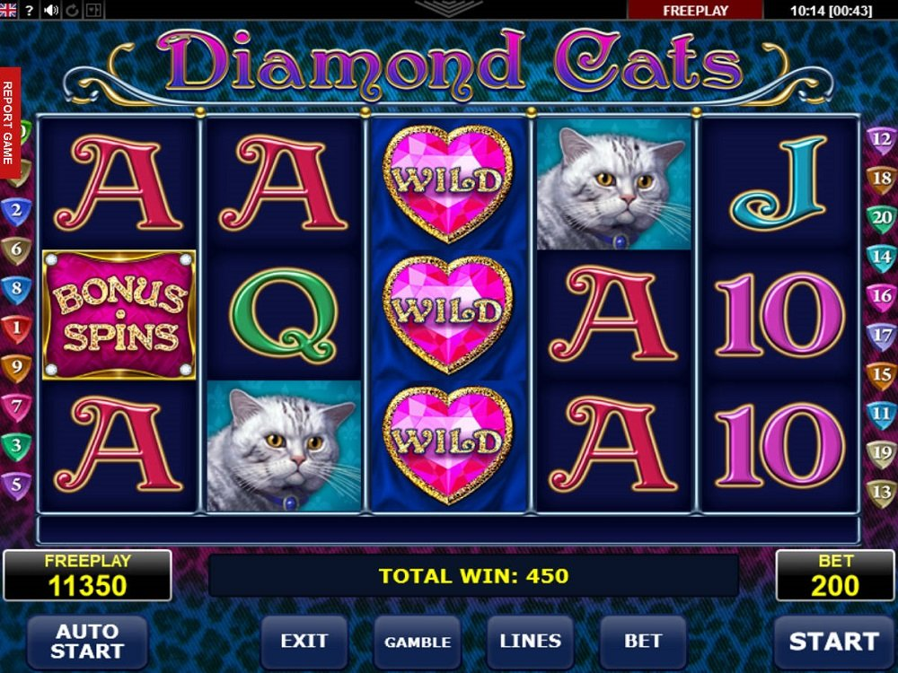 Diamond Cats Slot Review