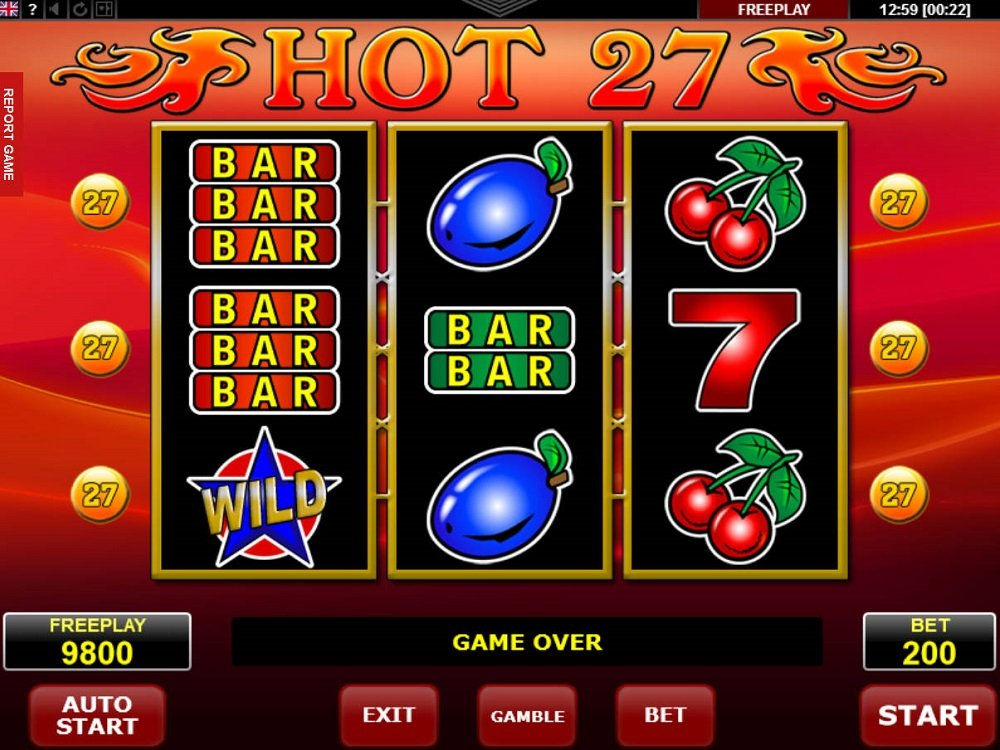 Hot 27 Slot Review