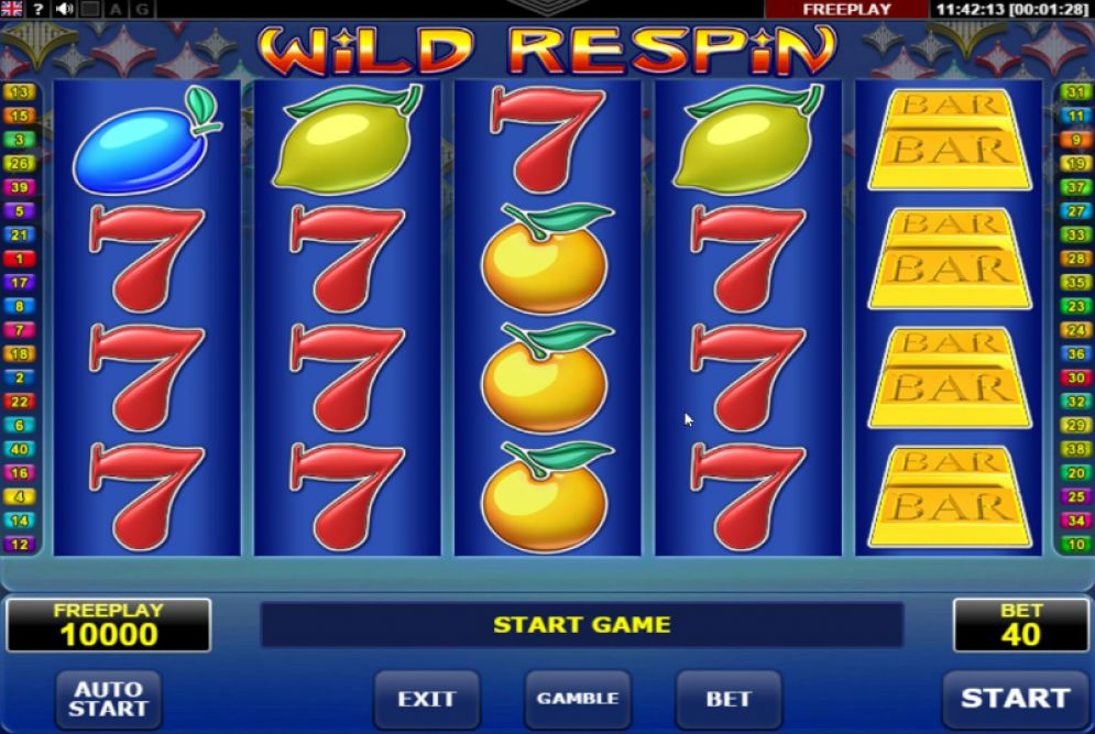 Wild Respin Slot Review