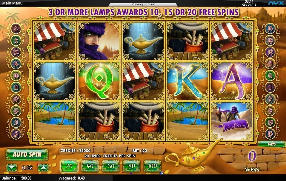 Aladdins Legacy Slot Review