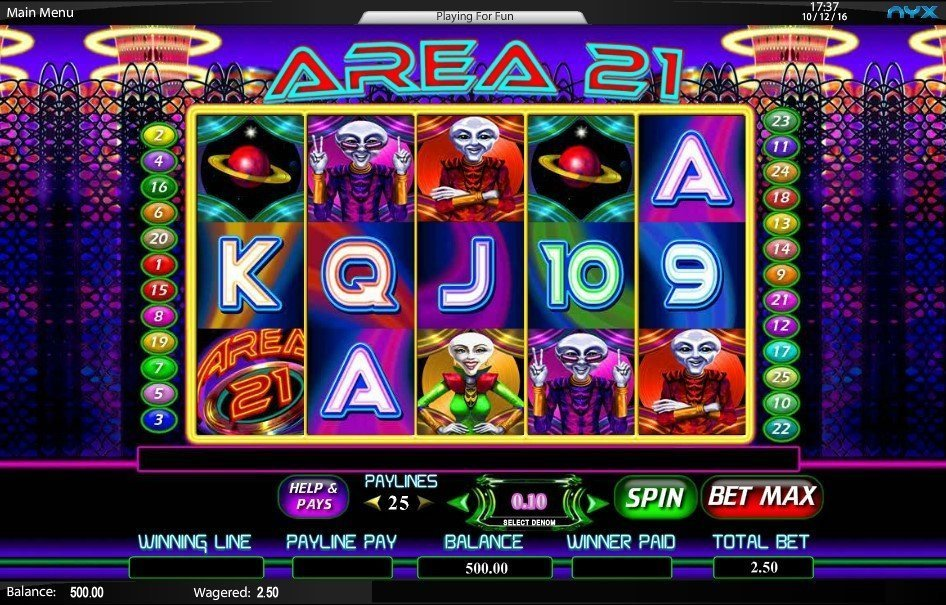 Area 21 Slot Review