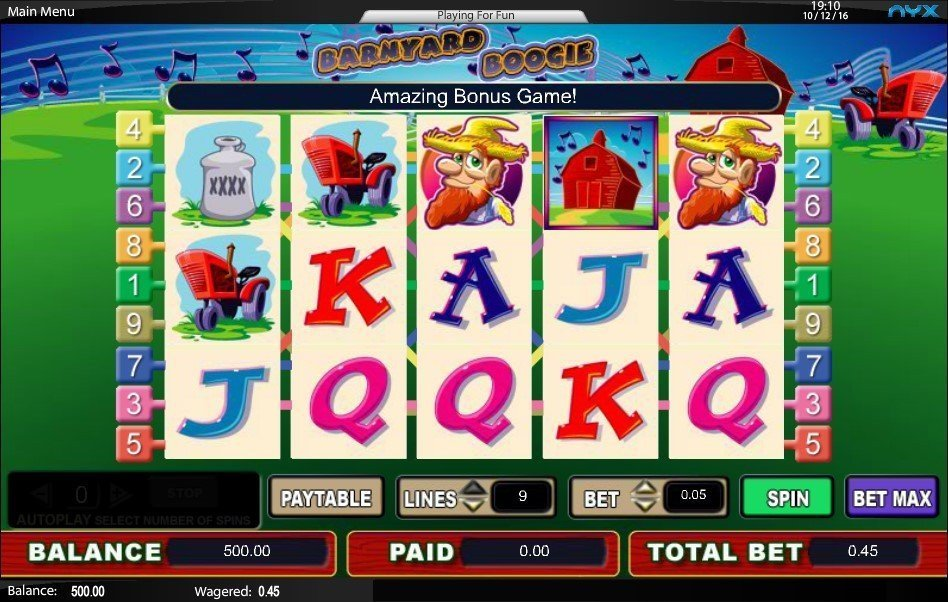 Barn Yard Boogie Slot Review