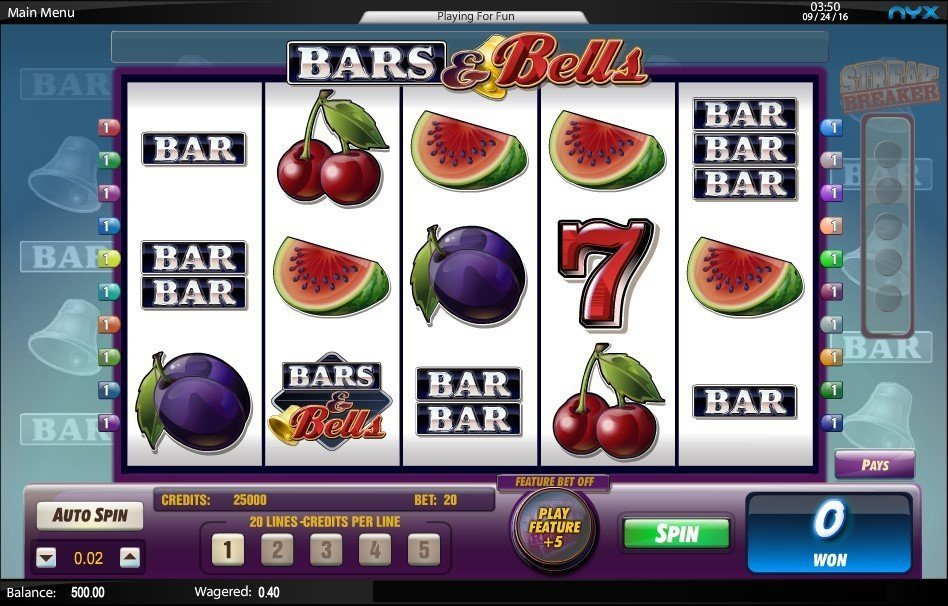 Bars And Bells Slot Review