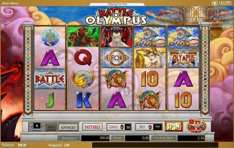 Spiele Olympus Evolution - Video Slots Online