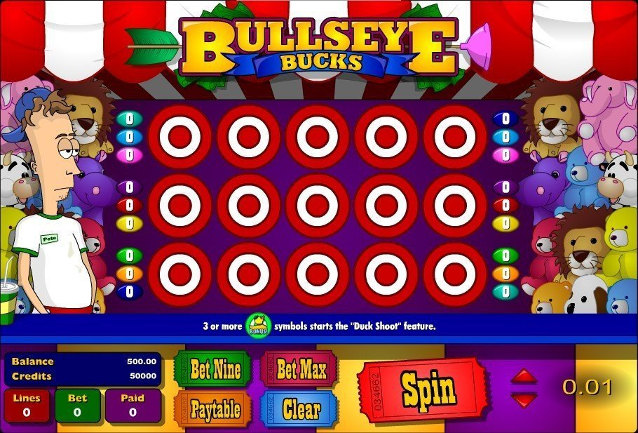Bullseye Bucks Slot Review
