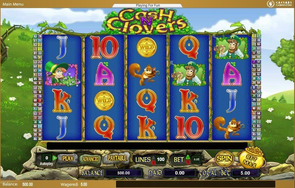 Cash N Clovers Slot Review