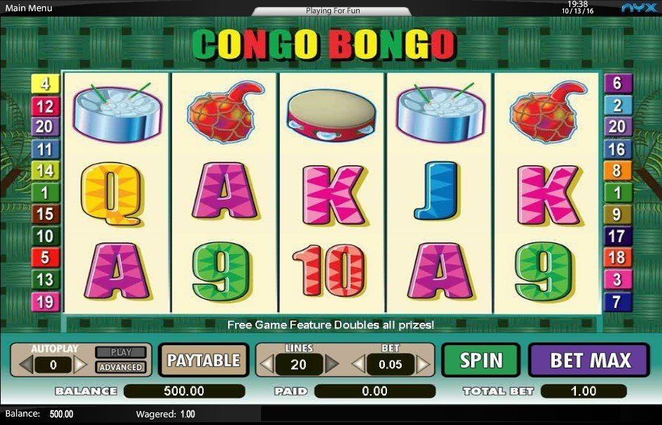 Congo Bongo Slot Review
