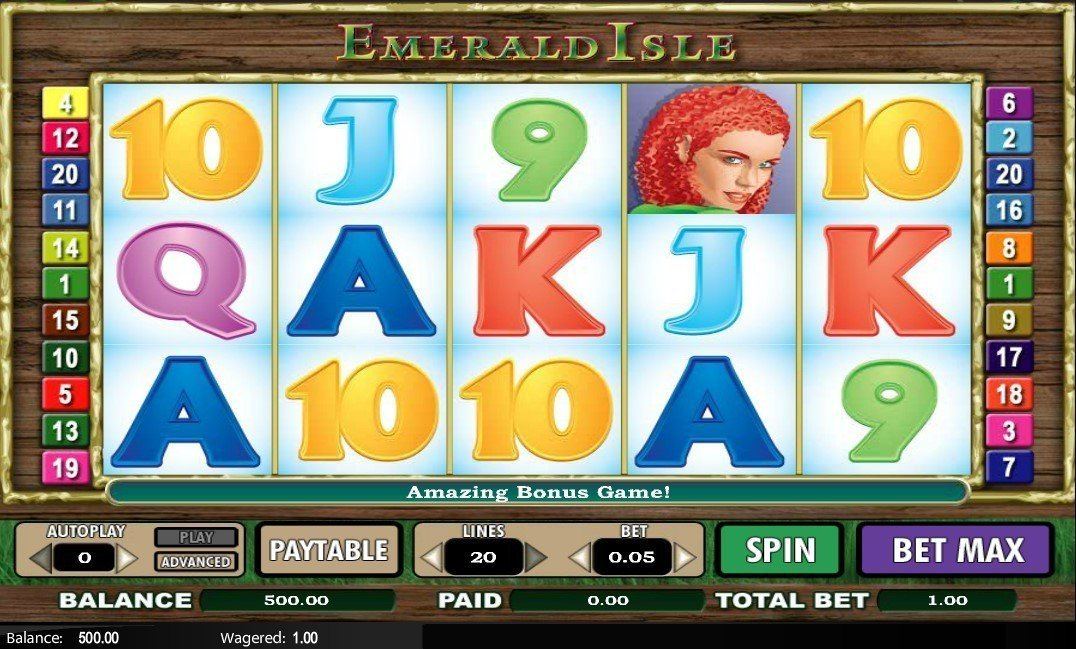 Emerald Isle Slot Review