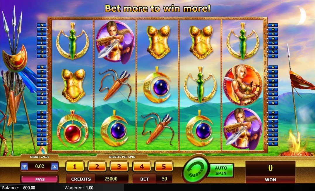 Fortunes Of The Amazons Slot Review