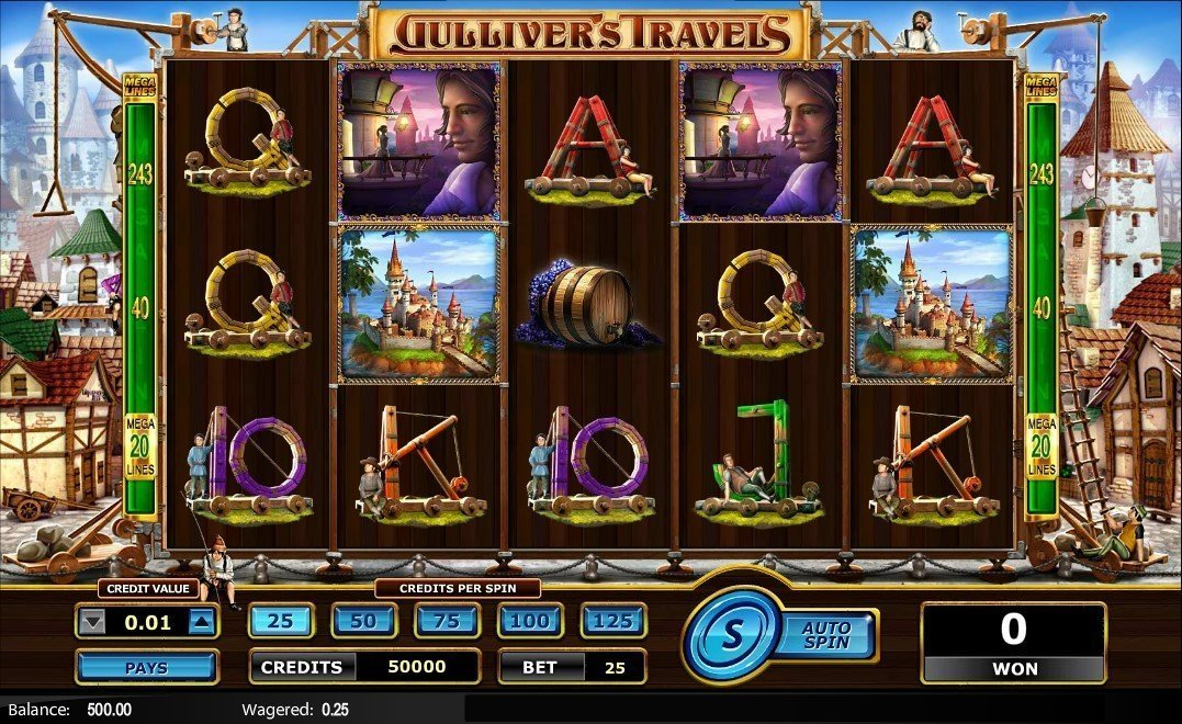 Gullivers Travels Slot Review