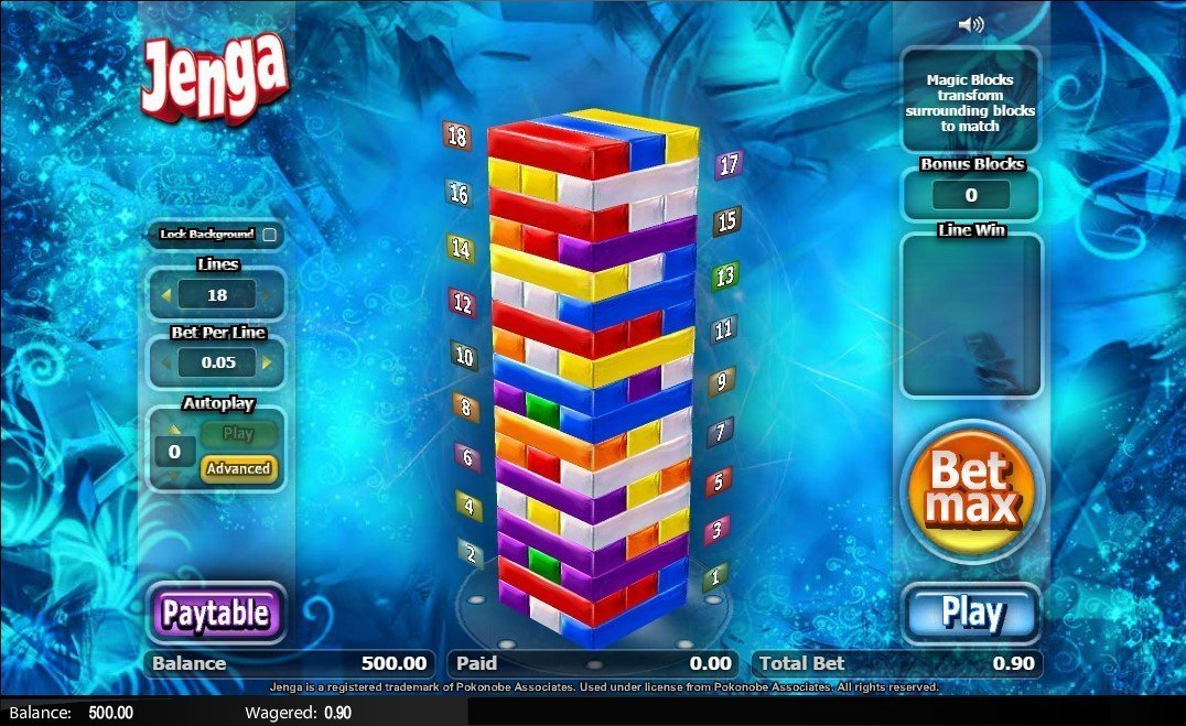 Jenga Slot Review