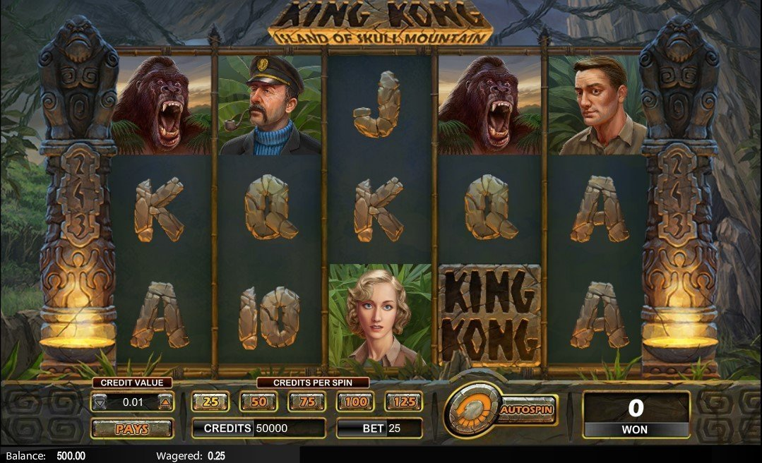 King Kong Island Of Skull Mountain Slot Review