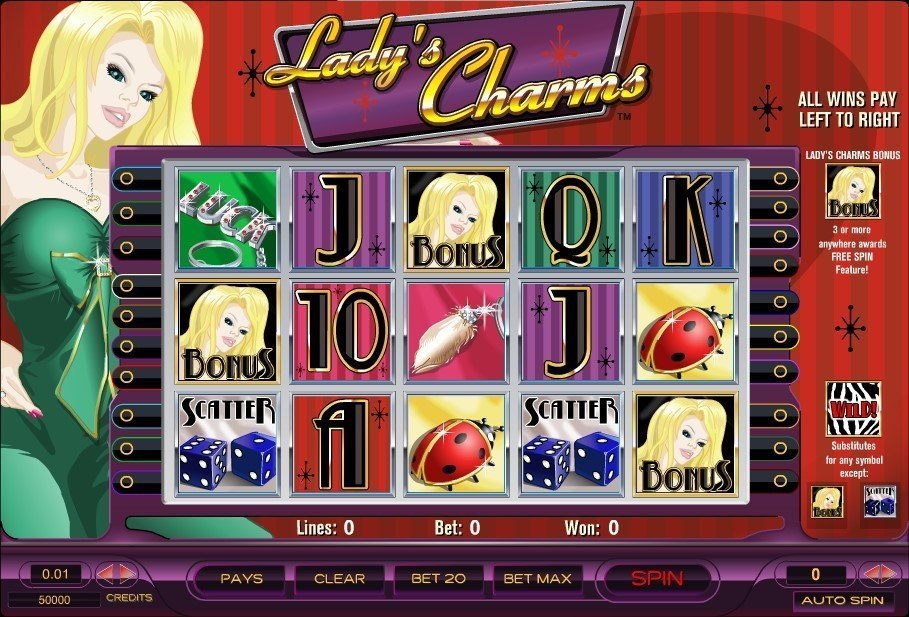 Ladys Charms Slot Review