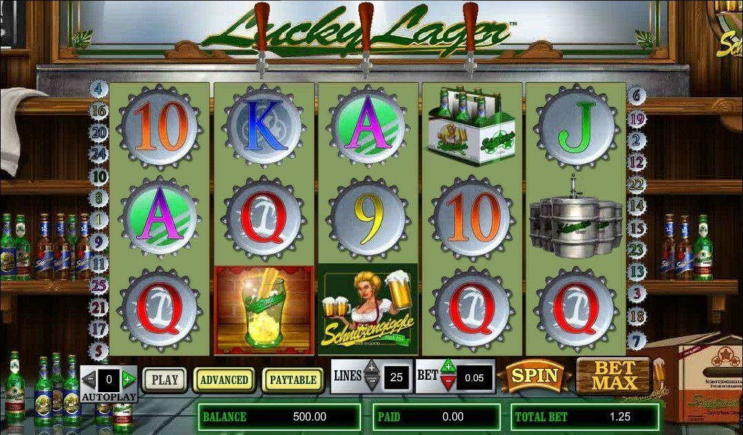 Lucky Lager Slot Review