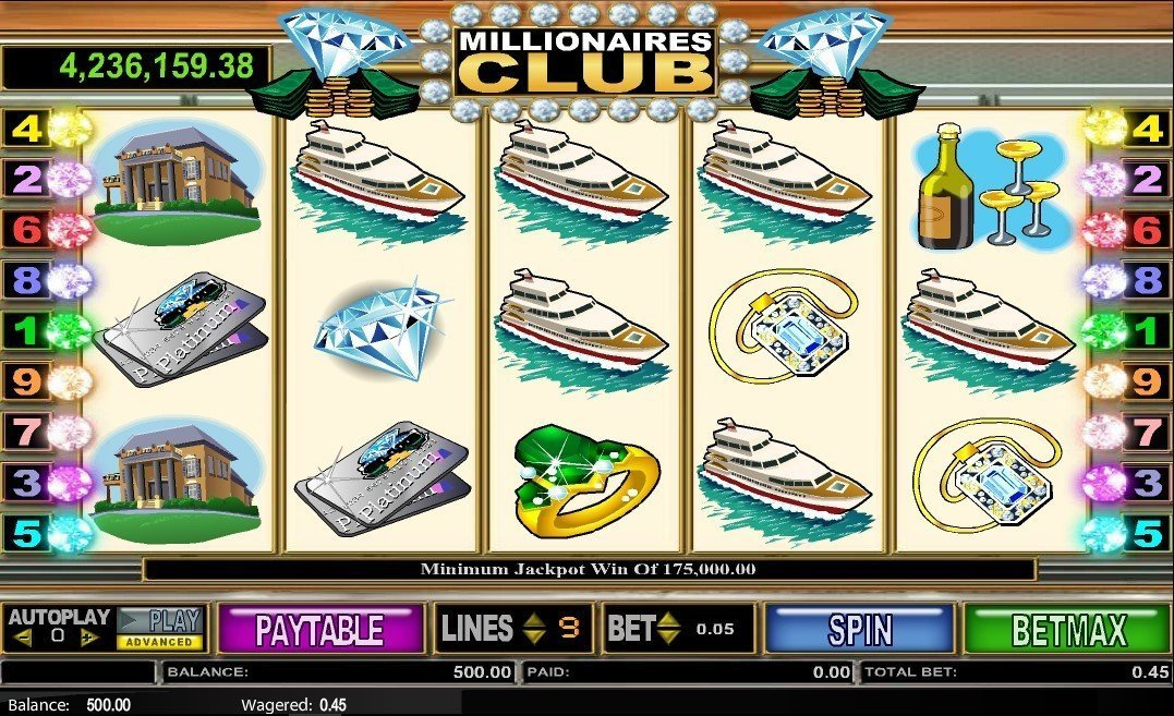 Millionaires Club 2 Slot Review