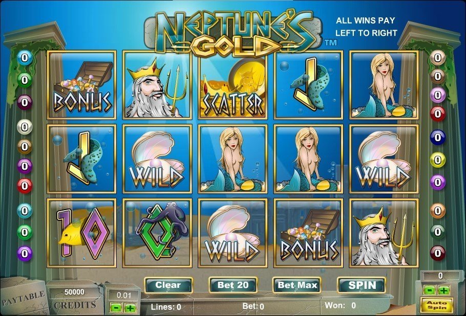 Neptunes Gold Slot Review