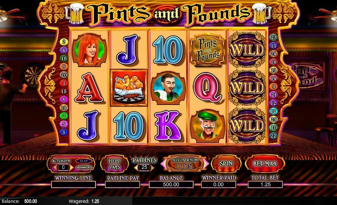 Pints And Pounds Slot Review