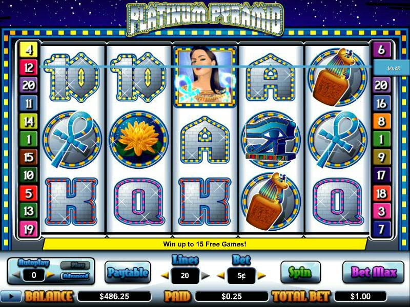 Platinum Pyramid Slot Review