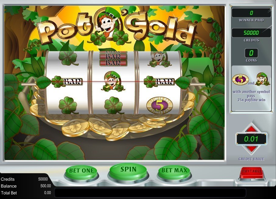 Pot O Gold Slot Review