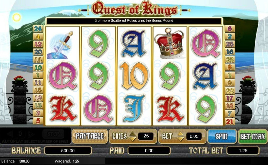 Quest Of Kings Slot Review