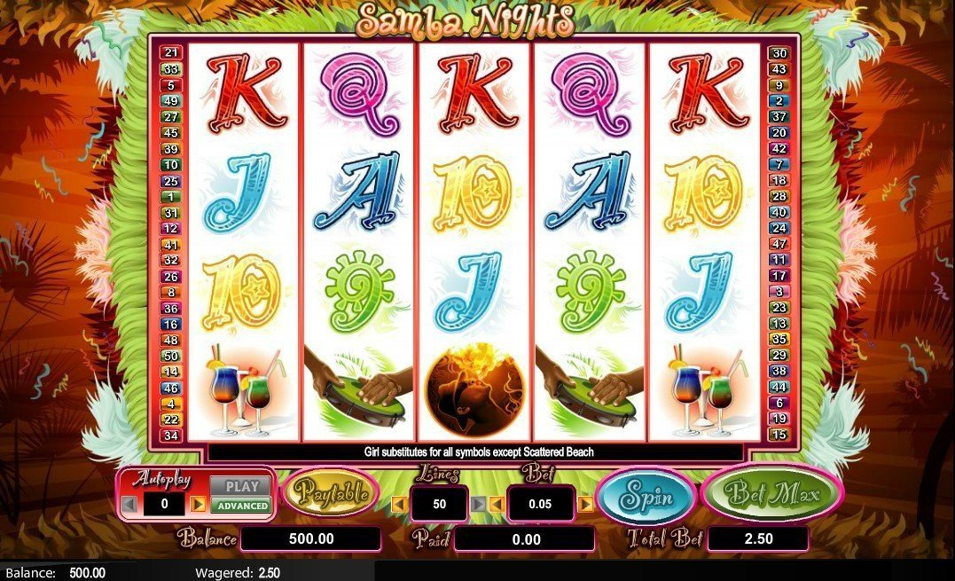 Samba Nights Slot Review