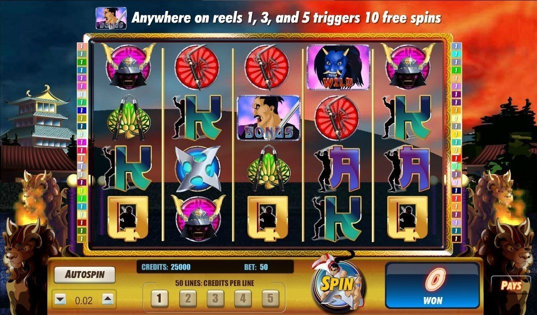 Shogun Showdown Slot Review