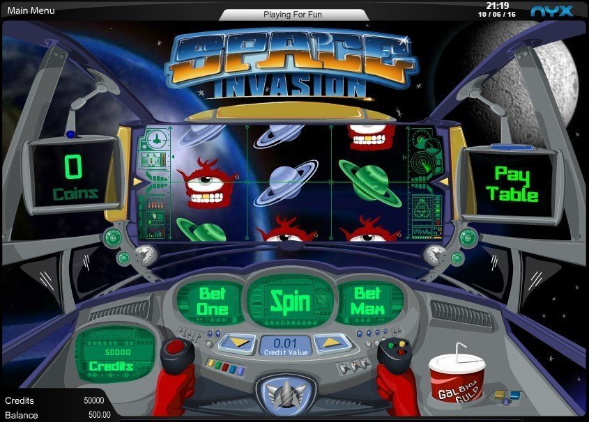 Space Invasion Slot Review