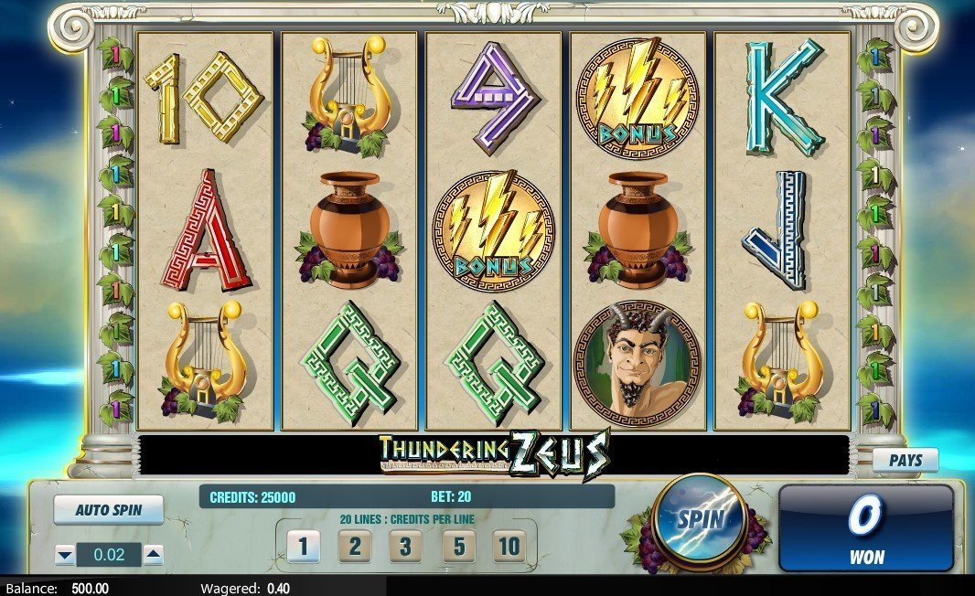 Thundering Zeus Slot Review