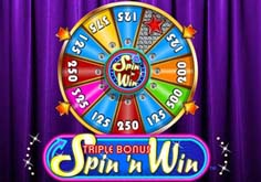 Triple Bonus Spin N Win Slot