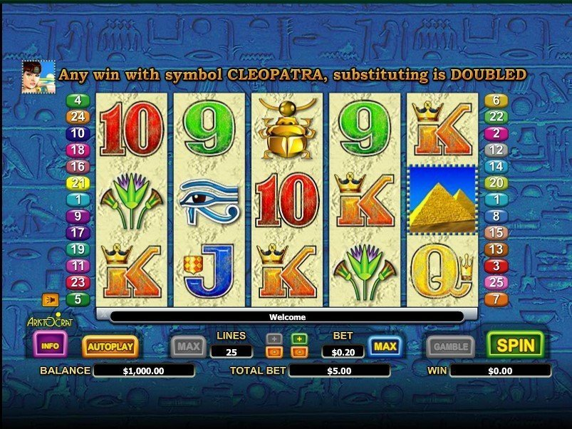 Queen Of The Nile 2 Slot Review