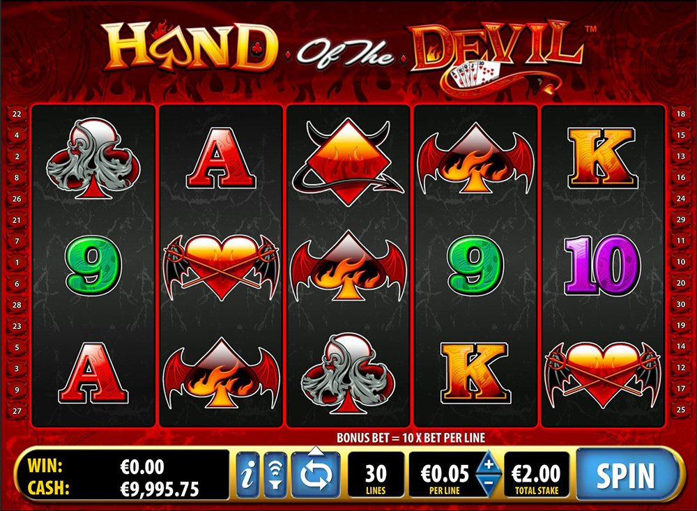Hand Of The Devil Slot Review