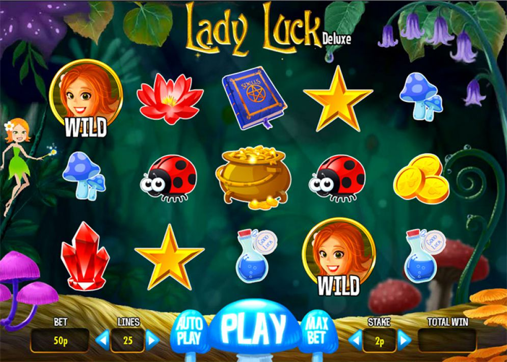 Lady Luck Deluxe Slot Review