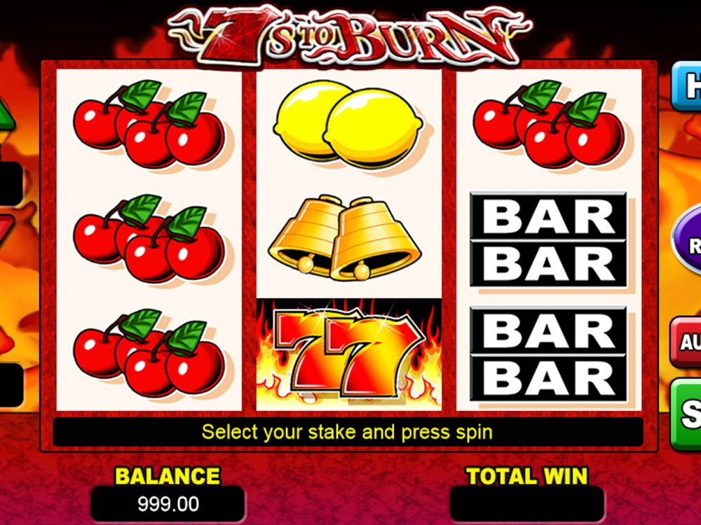 7s To Burn Slot Review