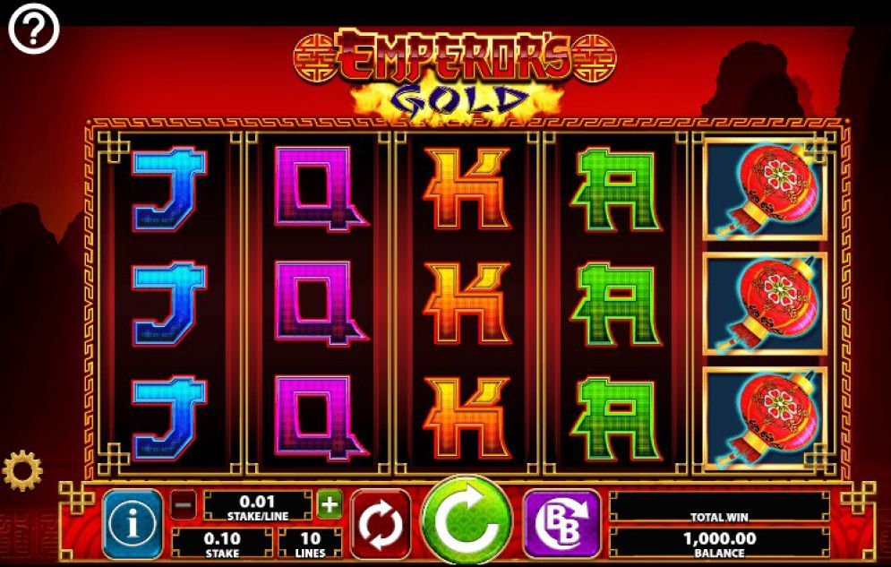 Emperor S Gold Slot Review