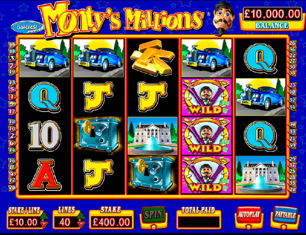 Monty Millions Slot Review