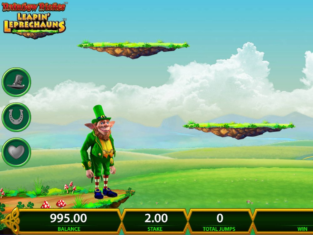 Rainbow Riches Leapin Leprechauns Slot Review